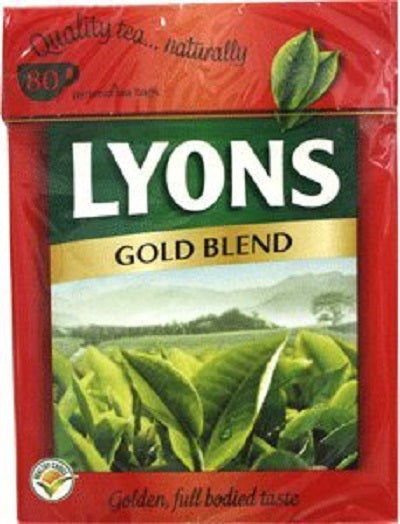 Lyons Pyramid Tea, Gold Blend, Tea Bagss, 80-Count Package (Pack of 3)