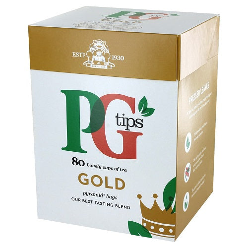 PG Tips Gold 80 Bags - 3 Pack