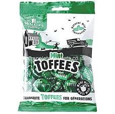 Walker's Nonsuch Mint Toffees 150g Bag (Pack Of 6) New