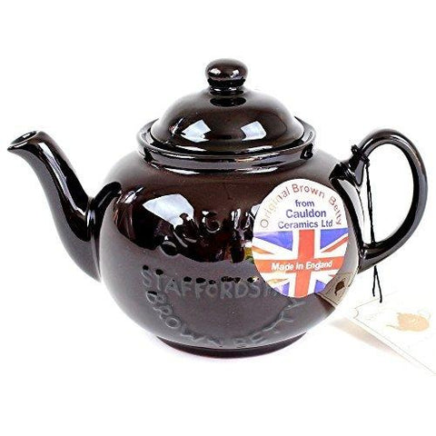 BROWN BETTY Brown Betty teapot 2 cups New model logo - British Food Supplies