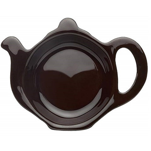 Brown Betty Teapot-Shaped Tea Caddy, Red Clay - British Food Supplies