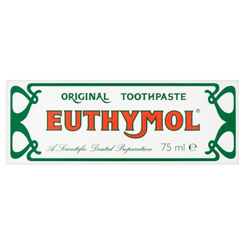 12 x Euthymol Original Toothpaste 75ml - British Food Supplies