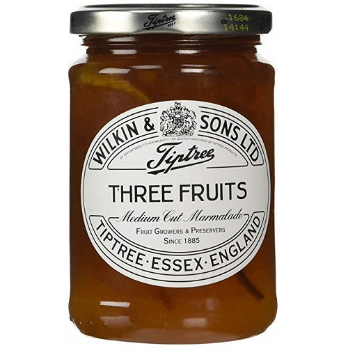 Tiptree Jams Three Fruits Marmalade 340g