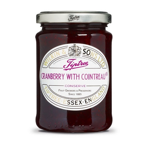 (3 PACK) - Tiptree - Cranberry with Cointreau | 340g | 3 PACK BUNDLE - British Food Supplies