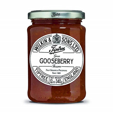 (2 Pack) - Tiptree - Green Gooseberry Conserve | 340g | 2 PACK BUNDLE