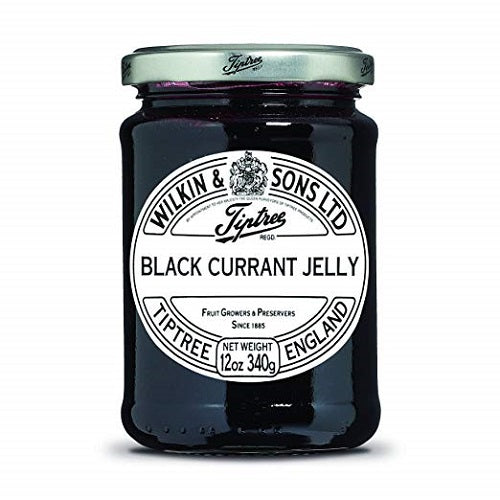 (4 PACK) - Tiptree - Black Currant Jelly | 340g | 4 PACK BUNDLE