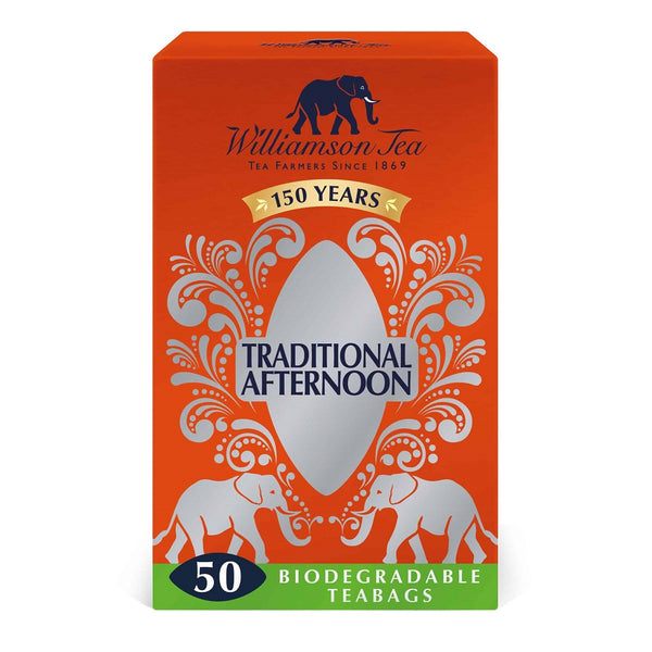 Williamson Tea Afternoon Case of 4 X 50 Teabags