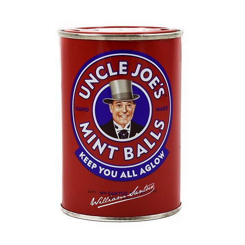 Uncle Joe's Mint Balls. 4.23 Ounce - 120 Gram Tin