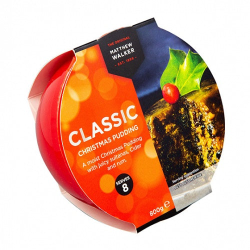 Matthew Walker Classic Christmas Pudding 800G (Pack of 3)