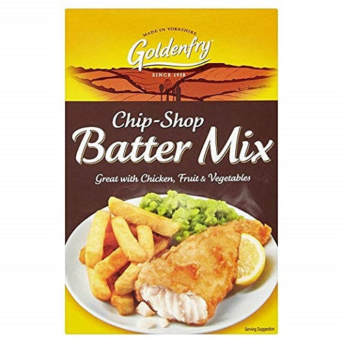 Golden Fry Chip Shop Batter mix (170 gram) Imported from Ireland