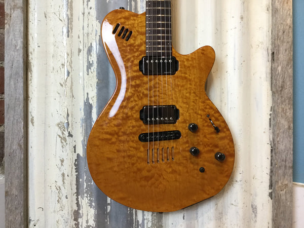 Godin LGX with Quilt Maple Top - Cask Music