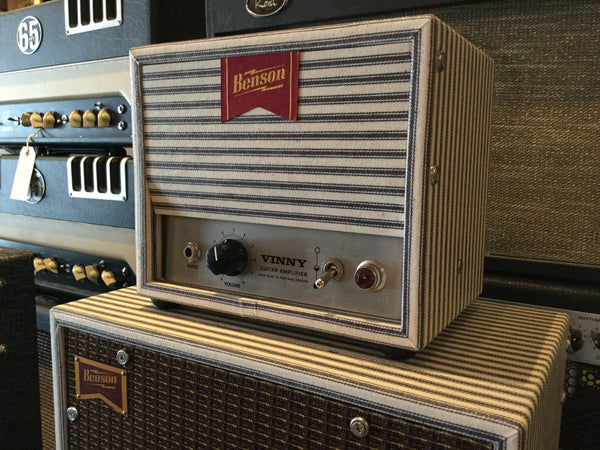 Benson 'Vinny' 1w Tube Head & Cab - Cask Music