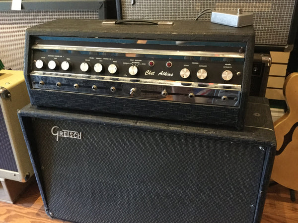 Gretsch Chet Atkins Tube Amp and Cabinet - Cask Music