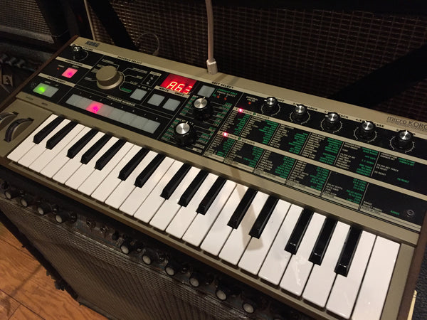 MicroKORG Synth with soft case - Cask Music