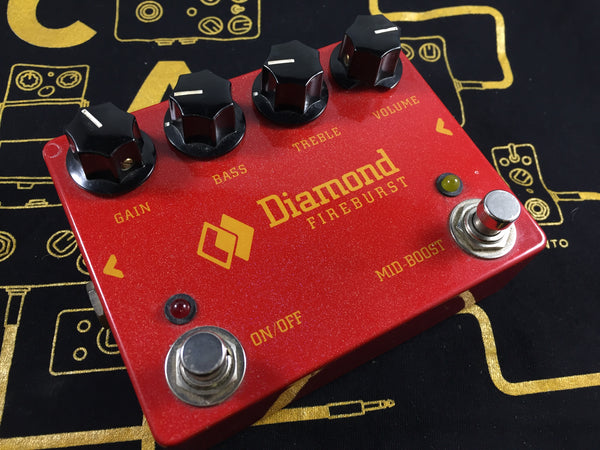 Diamond Fireburst Fuzz - Cask Music