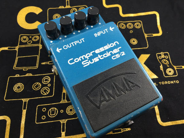 Gamma CS-2 Compressor/Sustainer