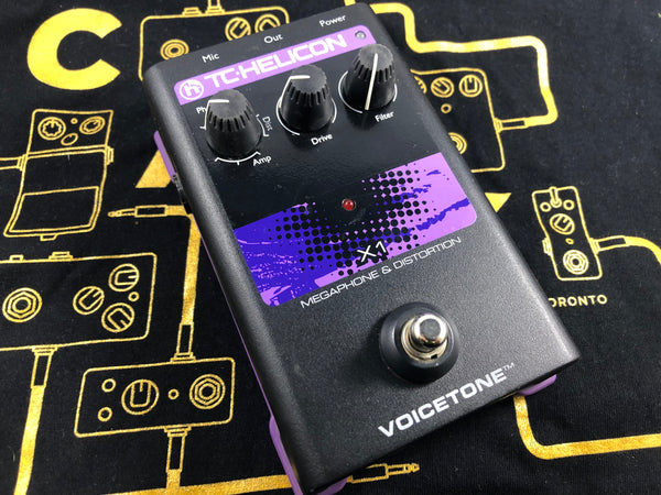 TC Helicon Voicetone X1 Vocal Megaphone / Distortion