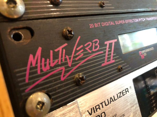 ART Multiverb II Rack Effects Processor
