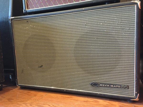 Teisco Checkmate 2x12 Guitar Cabinet