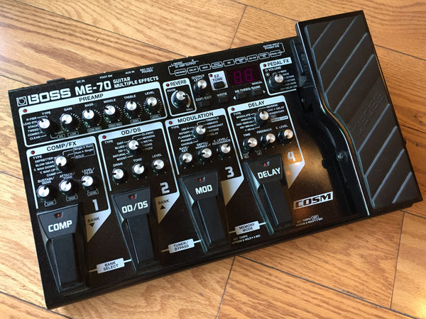 Boss ME-70 Floorboard Multi-FX