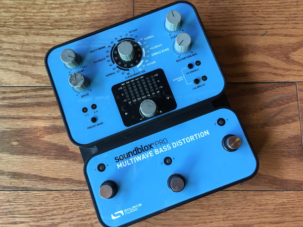 Source Audio Soundblox Pro Multiwave Bass Distortion