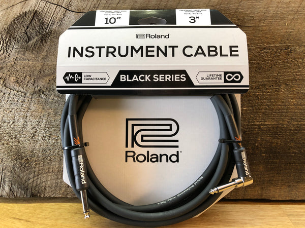 Roland Black Series Instrument Cables