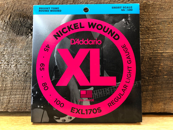 D'Addario Nickel Wound Electric Bass Strings
