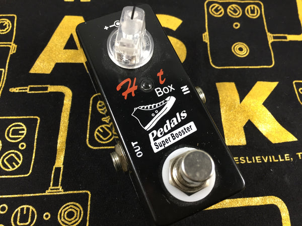 Hot Box Pedals Super Booster - Cask Music