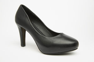 RUNWAY Black 3 inch heel Uniform Standard Shoe