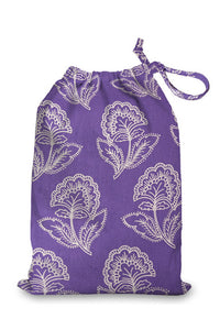 100% Cotton Shoe Bags - protect your shoes & keep your clothes clean.