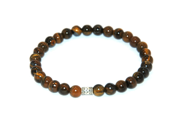Tiger Eye Stone Bracelet 6 mm