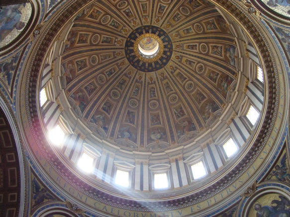 Dome at St. Peter's Basilica