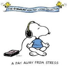 Snoopy - A Day Away From Stress Small