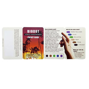 Biodot Stress Management Pocket Guide - Small