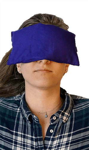 Eye Pillow Being Used