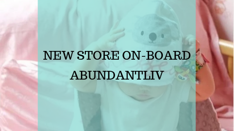 New Store On-Board - ABUNDANTLIV