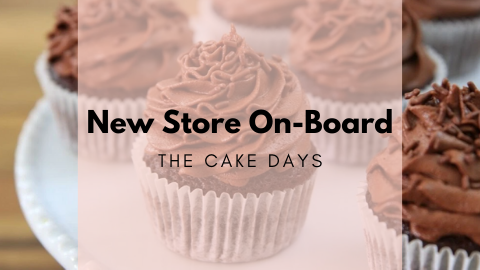 New Store On Board - The Cake Days