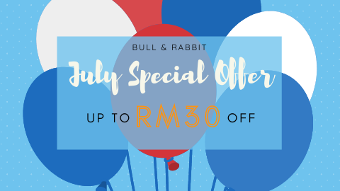July Special Offer By Bull & Rabbit