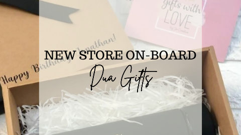 Dua Gifts New Launch + Giveaway + Exclusive Offer