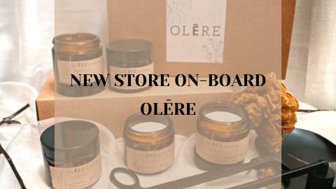 New Store On Board - OLĒRE