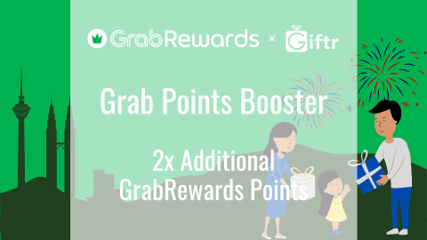 GrabPay Online Points Booster - Receive 2x Additional Reward Points!