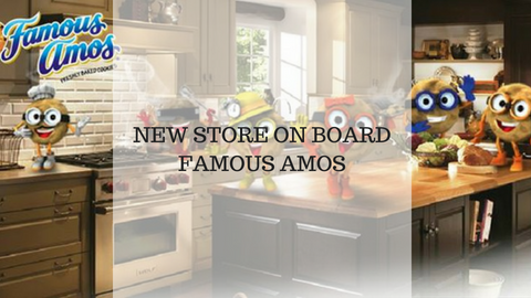 New Store On Board - Famous Amos