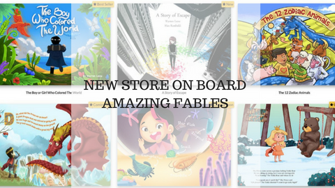 New Store on Board - Amazing Fables