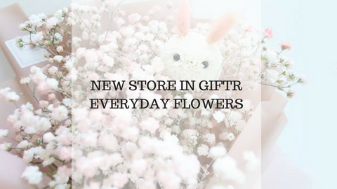 New Store in Giftr - Everyday Flowers