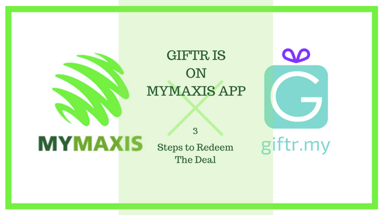 Giftr is now on MyMaxis