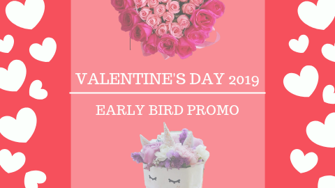 Valentine's Day 2019 - Early Bird Promo