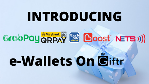 Pay With Your Preferred e-Wallets On Giftr
