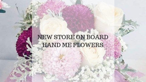 New Store Onboard - Hand Me Flowers