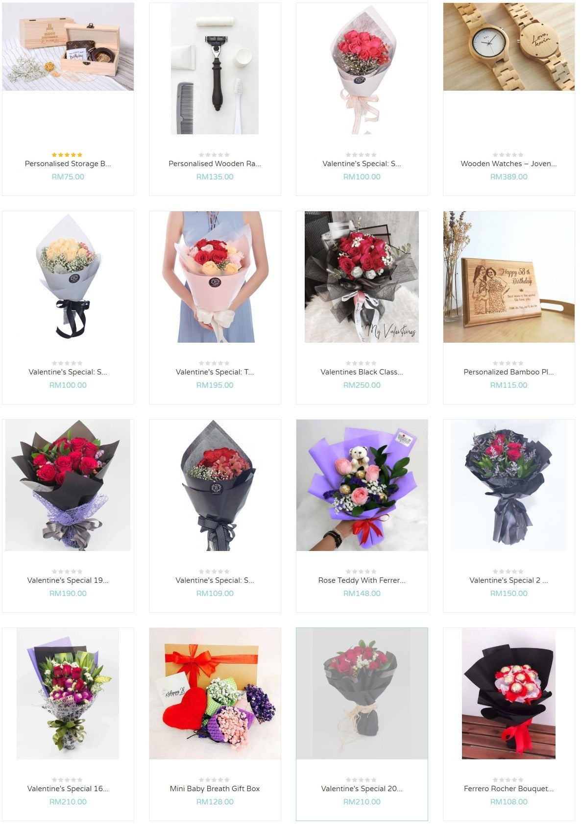 valentine's day gift flowers collection