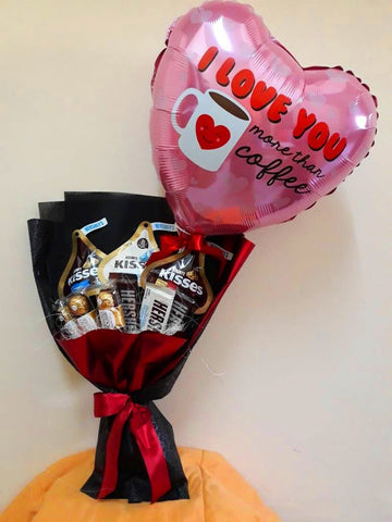 I Love You Chocolate Bouquet